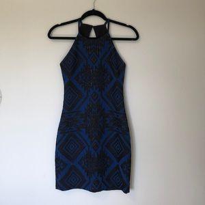 Parker Aztec halter dress